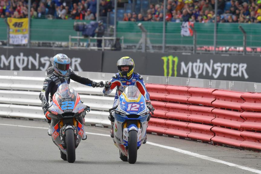 Thomas Luthi, Marcel Schrotter, Monster Energy British Grand Prix