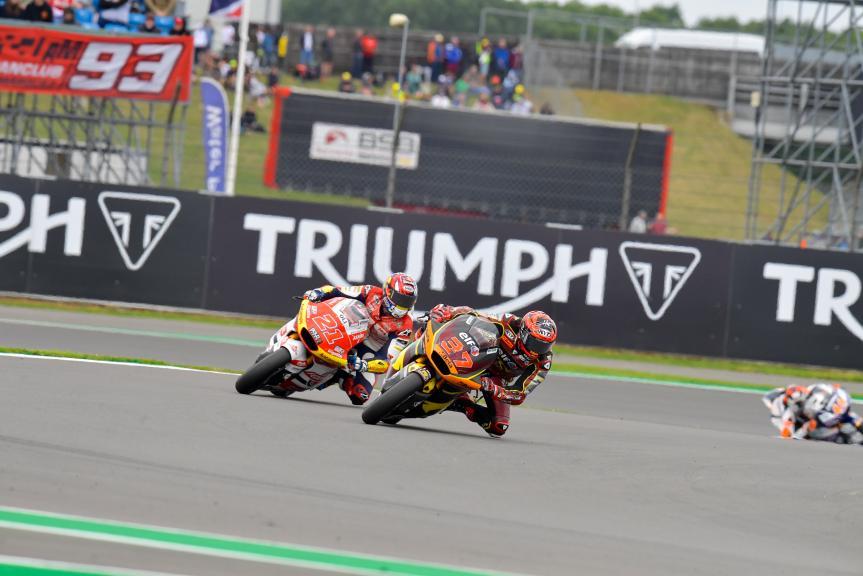 Augusto Fernandez, Fabio Di Giannantonio, Monster Energy British Grand Prix