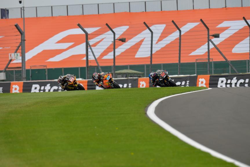 Sam Lowes, Marco Bezzecchi, Remy Gardner, Monster Energy British Grand Prix