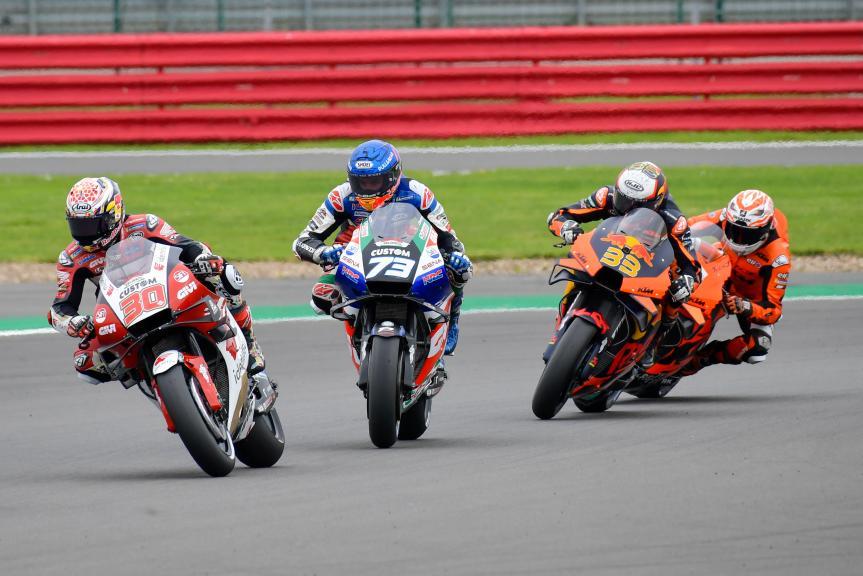 Takaaki Nakagami, Alex Marquez, LCR Honda Idemitsu, Monster Energy British Grand Prix