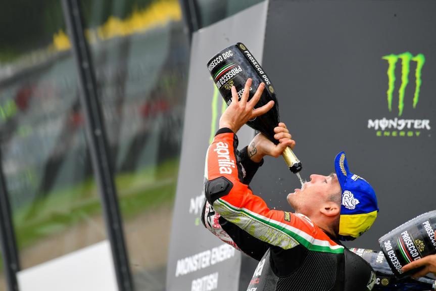 Aleix Espargaro, Aprilia Racing Team Gresini, Monster Energy British Grand Prix