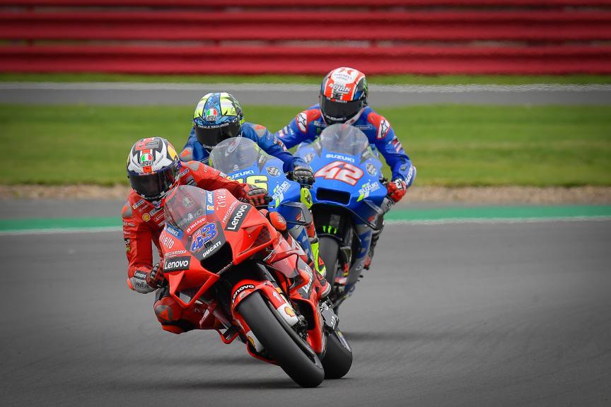 Jack Miller, Joan Mir, Alex Rins, Monster Energy British Grand Prix