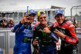 Aleix Espargaro, Fabio Quartararo, Alex Rins, Monster Energy British Grand Prix