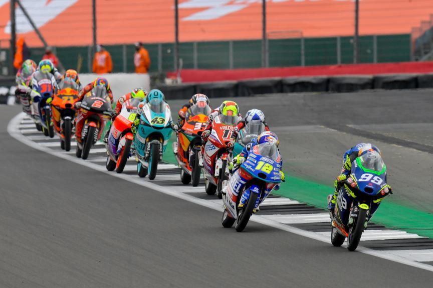 Moto3, Race, Monster Energy British Grand Prix