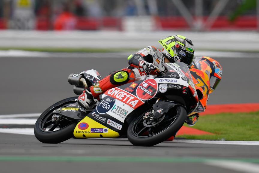 Lorenzo Fellon, Sic58 Squadra Corse, Monster Energy British Grand Prix