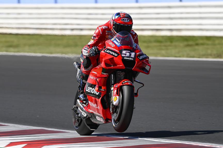 Michele Pirro,Ducati Team,  Misano Private Test