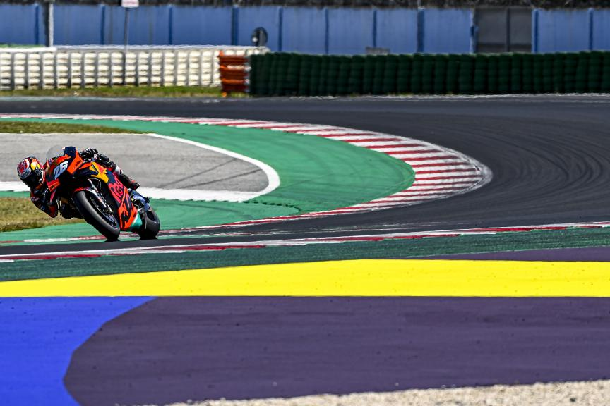 Dani Pedrosa, Red Bull KTM Factory Racing. Misano Private Test