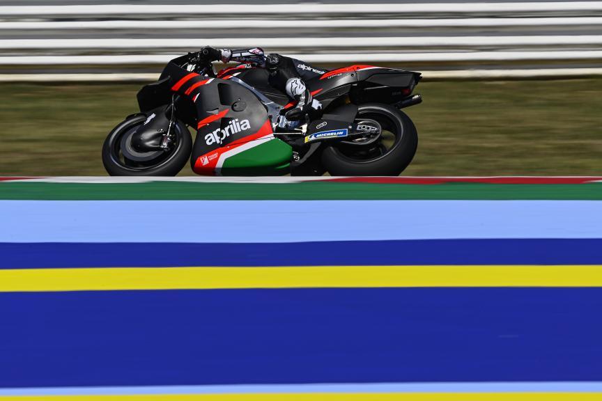 Maverick Viñales, Aprilia Racing Team Gresini, Misano Private Test