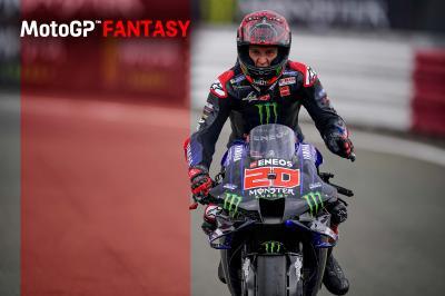 Quartararo afianza su estatus en MotoGP™ Fantasy