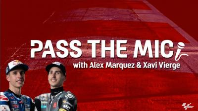 Pass The Mic: Alex Marquez and Xavi Vierge