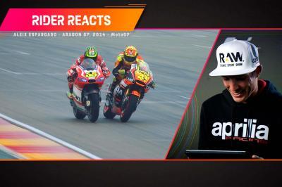 RIDER REACTS: Aleix Espargaró et son premier podium MotoGP™