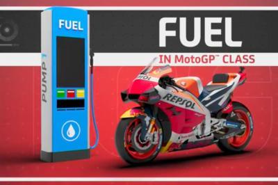 3D: El combustible en MotoGP™