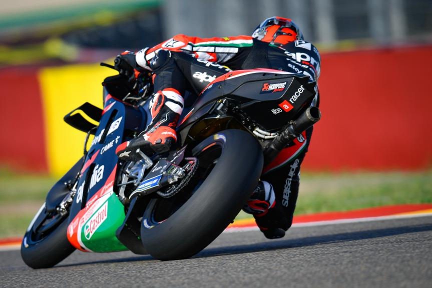 Maverick Viñales, Aprilia Racing Team Gresini, Gran Premio TISSOT de Aragón