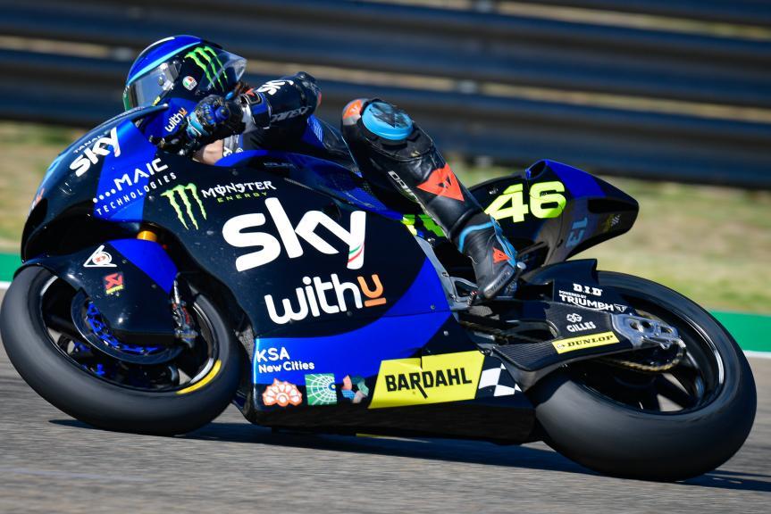 Celestino Vietti, Sky Racing Team VR46, Gran Premio TISSOT de Aragón