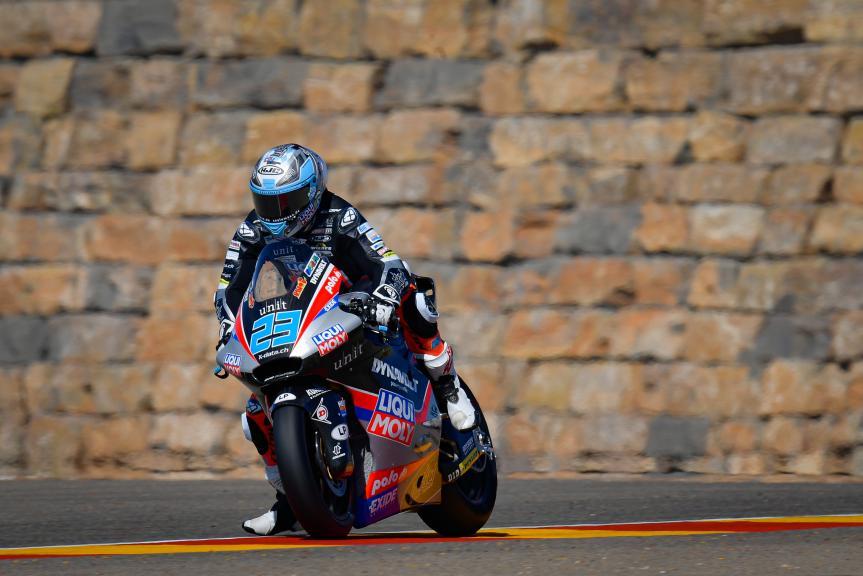 Marcel Schrotter, Liqui Moly Intact GP, Gran Premio TISSOT de Aragón
