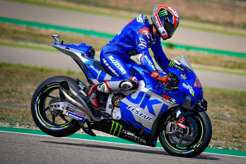 Alex Rins, Team Suzuki Ecstar, Gran Premio TISSOT de Aragón