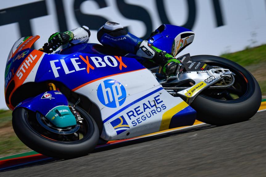 Stefano Manzi, Flexbox HP40, Gran Premio TISSOT de Aragón
