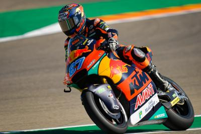 Moto2™: Gardner sigue en forma y domina el viernes de Aragón