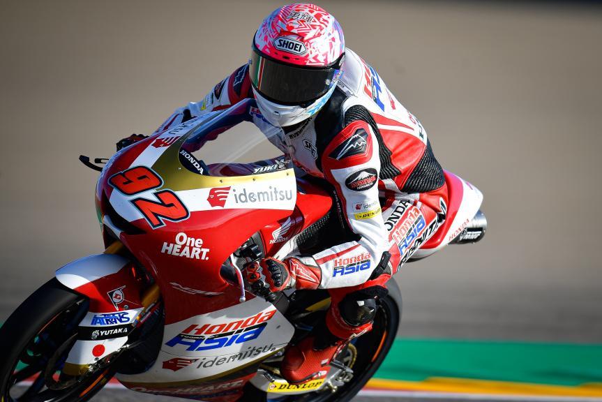 Yuki Kunii, Honda Team Asia, Gran Premio TISSOT de Aragón