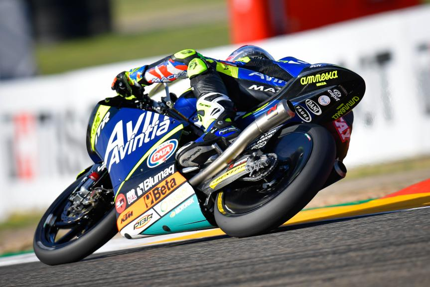 Carlos Tatay, Avintia Esponsorama Moto3, Gran Premio TISSOT de Aragón