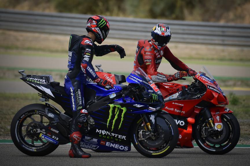 Fabio Quartararo, Jack Miller, Gran Premio TISSOT de Aragón
