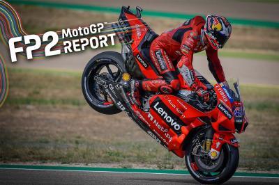 GP d'Aragón : Miller dicte sa loi en FP2