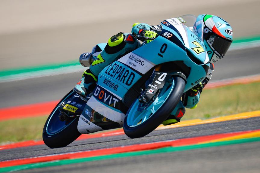 Dennis Foggia, Leopard Racing, Gran Premio TISSOT de Aragón