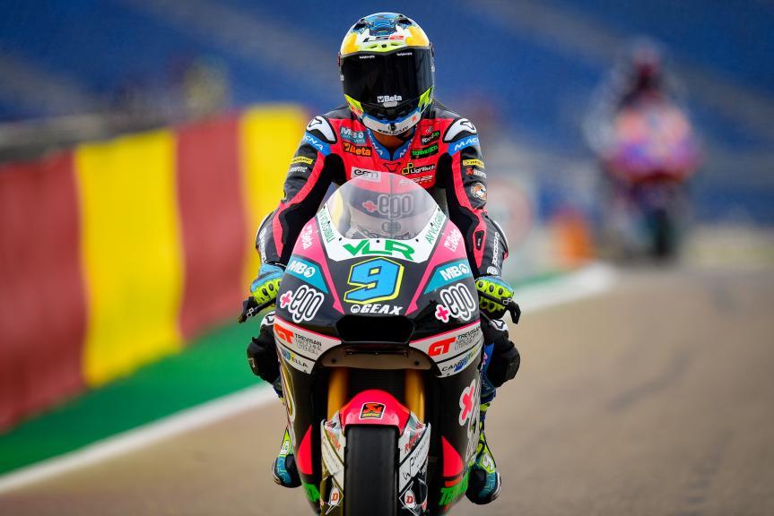Jorge Navarro, +Ego Speed Up, Gran Premio TISSOT de Aragón