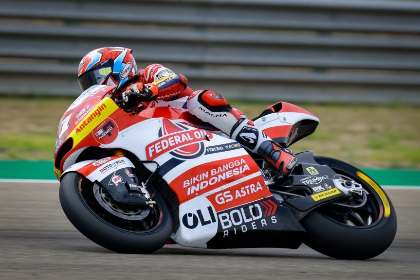 Nicolo Bulega, Federal Oil Gresini Moto2, Gran Premio TISSOT de Aragón