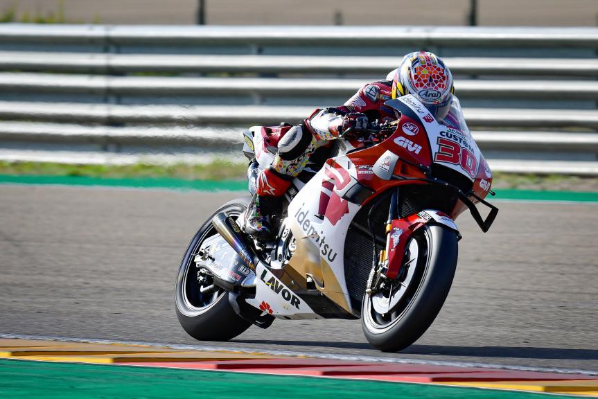 Takaaki Nakagami, LCR Honda, Gran Premio TISSOT de Aragón
