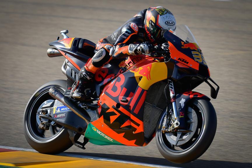 Brad Binder, Red Bull KTM Factory Racing, Gran Premio TISSOT de Aragón