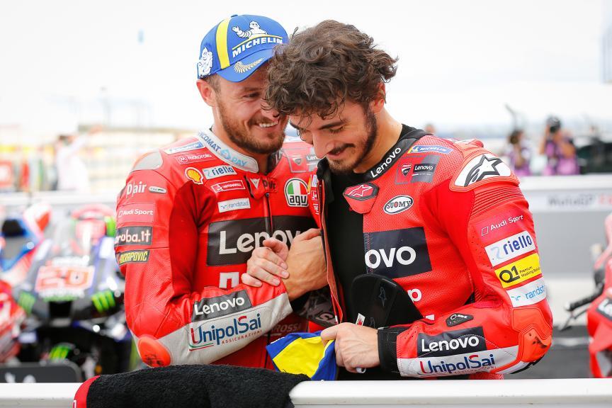 Jack Miller, Francesco Bagnaia, Ducati Lenovo Team, Gran Premio TISSOT de Aragón