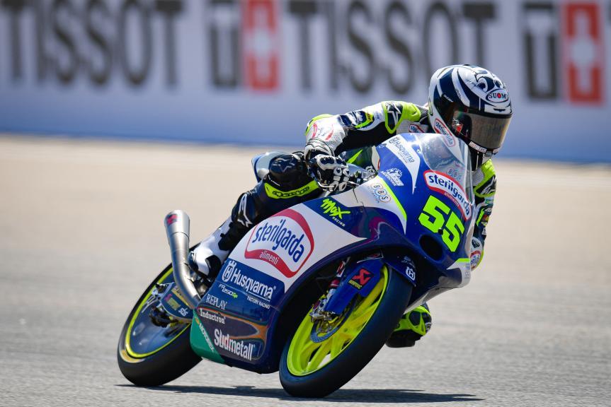 Romano Fenati, Sterilgarda Max Racing Team, Gran Premio TISSOT de Aragón