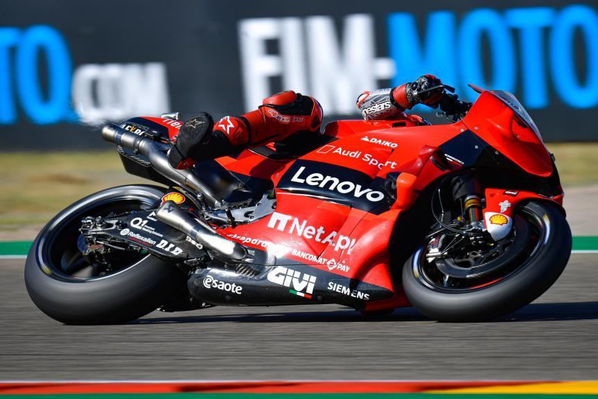 Francesco Bagnaia, Ducati Lenovo Team, Gran Premio TISSOT de Aragón