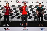 Francesco Bagnaia, Sam Lowes, Darryn Binder, Press Conference, Gran Premio TISSOT de Aragón
