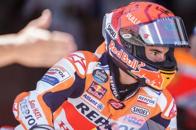 """""""My body is not ready for a full attack"""" - Marquez"""