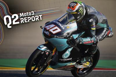 Binder bags second pole of 2021 in Aragon
