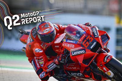 Bagnaia rompe el récord de vuelta cuando Ducati aterriza en la clasificación 1-2
