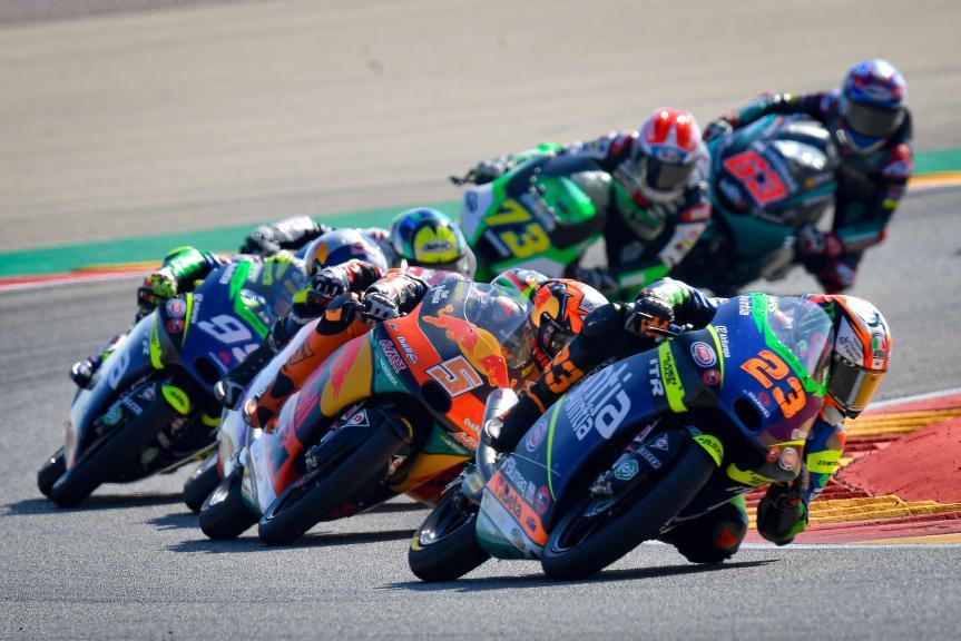 Jaume Masia, Niccolo Antonelli, Gran Premio TISSOT de Aragón