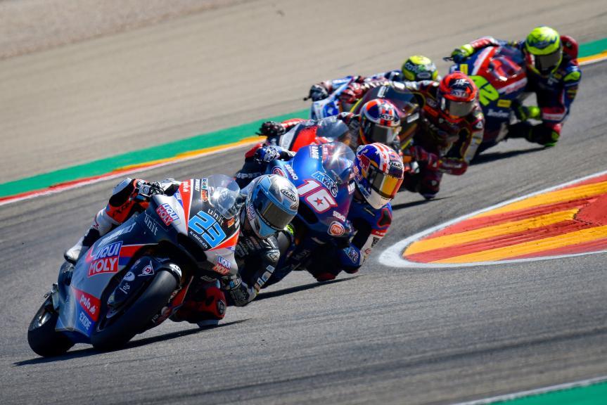 Marcel Schrotter, Joe Roberts, Gran Premio TISSOT de Aragón