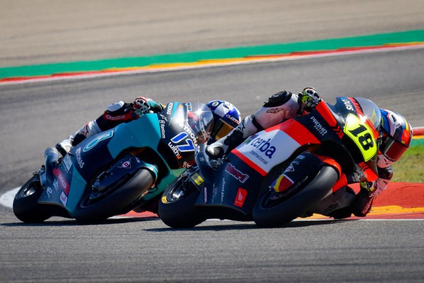 Xavier Cardelus, John Mcphee, Gran Premio TISSOT de Aragón
