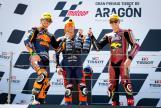Raul Fernandez, Remy Gardner, Augusto Fernandez, Gran Premio TISSOT de Aragón