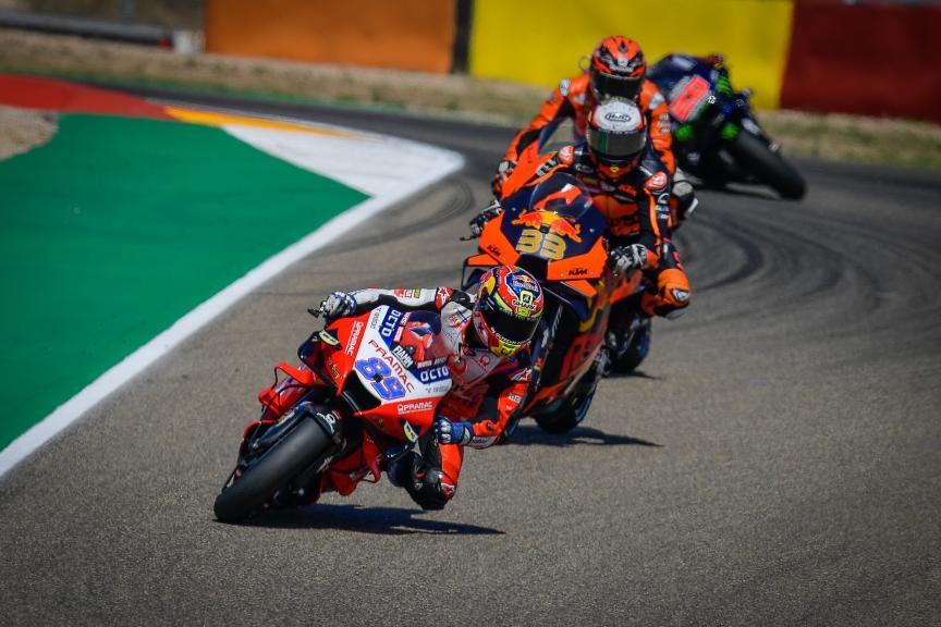 Brad Binder, Jorge Martin, Gran Premio TISSOT de Aragón