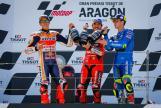 Joan Mir, Francesco Bagnaia, Marc Marquez, Gran Premio TISSOT de Aragón