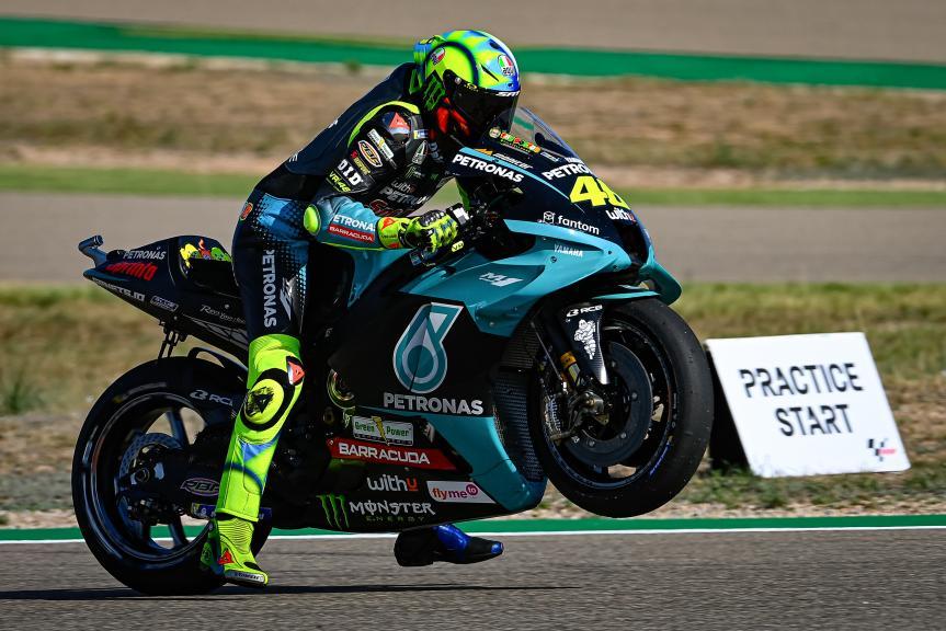 Valentino Rossi, Petronas Yamaha STR, Gran Premio TISSOT de Aragón