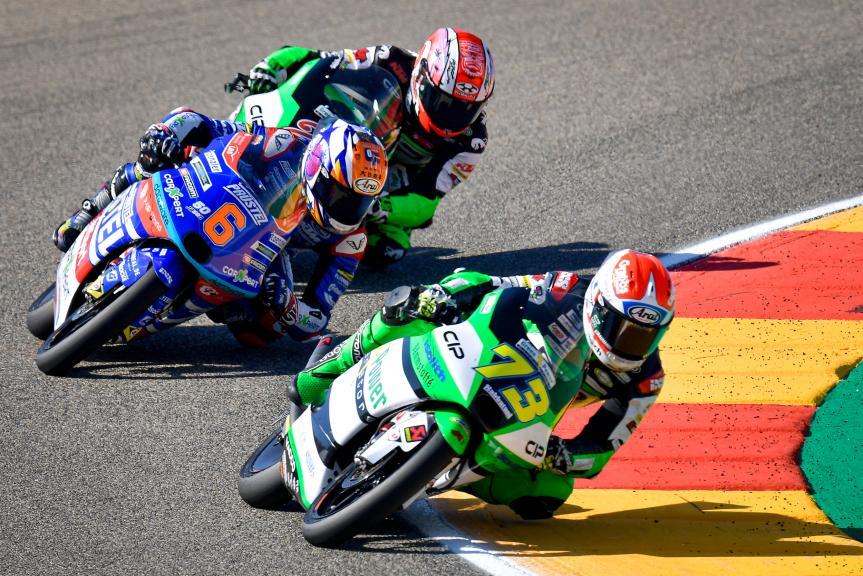 Maximilian Kofler, CIP Green Power, Gran Premio TISSOT de Aragón