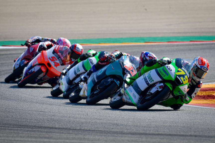 Moto3, Race, Gran Premio TISSOT de Aragón