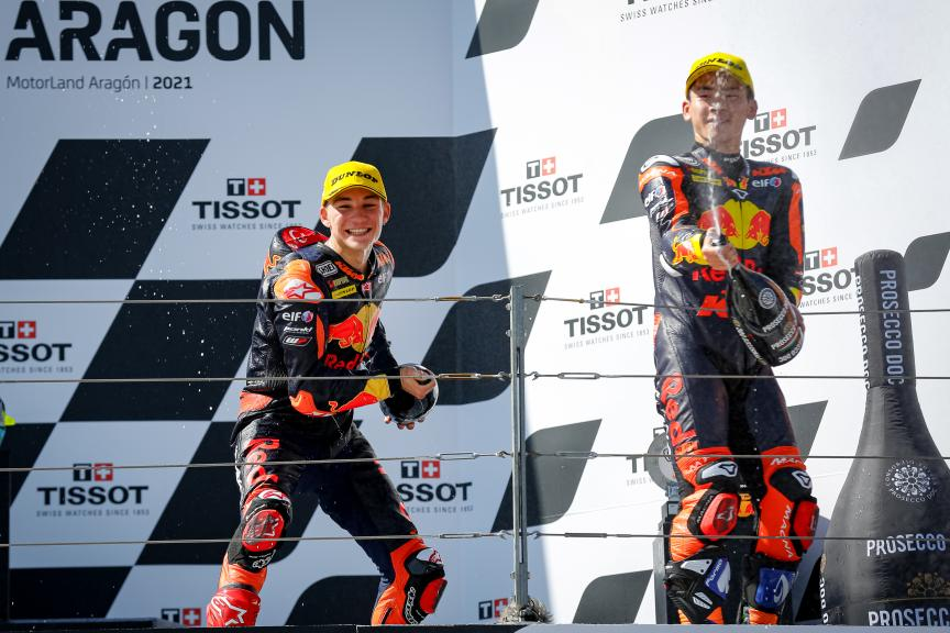 Deniz Oncu, Ayumu Sasaki, Red Bull KTM Tech 3, Gran Premio TISSOT de Aragón