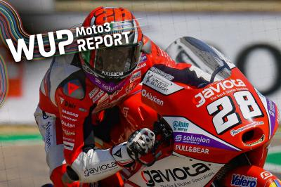 Guevara fastest from Öncü in delayed session