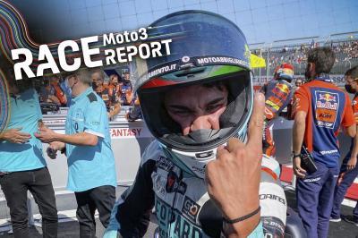 Moto3™ : Foggia rafle la mise en Aragón